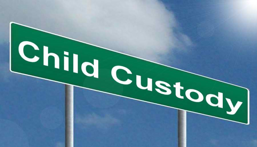 Child custody definitions in California.